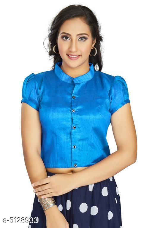 Trendy Banglori Silk Women's Blouse