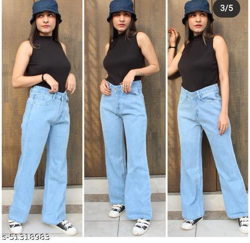 Fancy Graceful Women Jeans