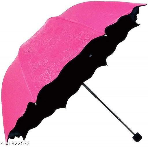 Magic Blossom Umbrella, Change Design When Touches Water/New Fancy-Stylish Umbrella 3 Fold Compact Size, Lightweight | Multi Color