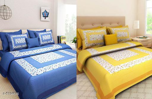 Serenade Comforstic Cotton 90x100 Double Bedsheet