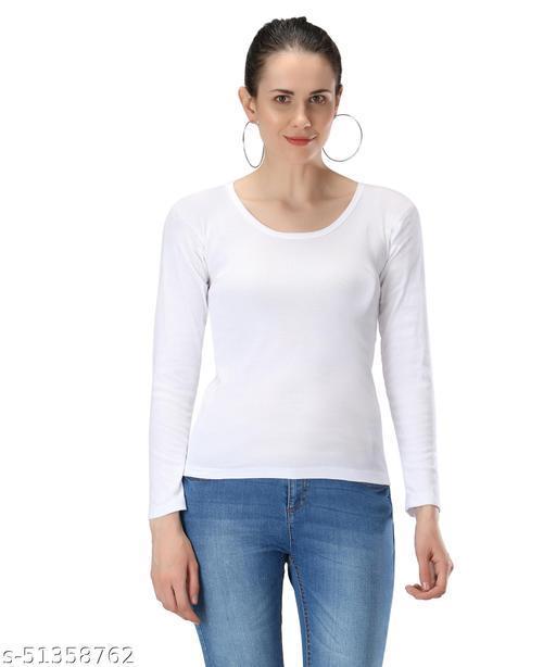 Women's Camisoles Inner Wear Full Seleve White