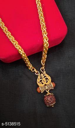New Attractive Men's Chain With Pendant
