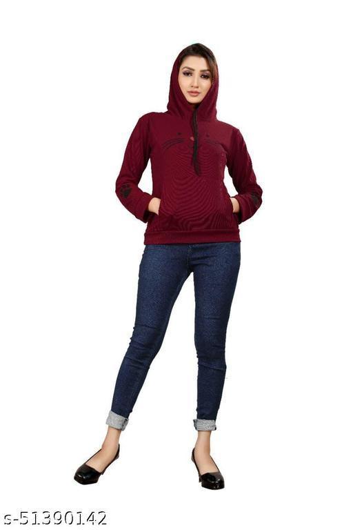 Fancy Elegant Women Sweatshirts