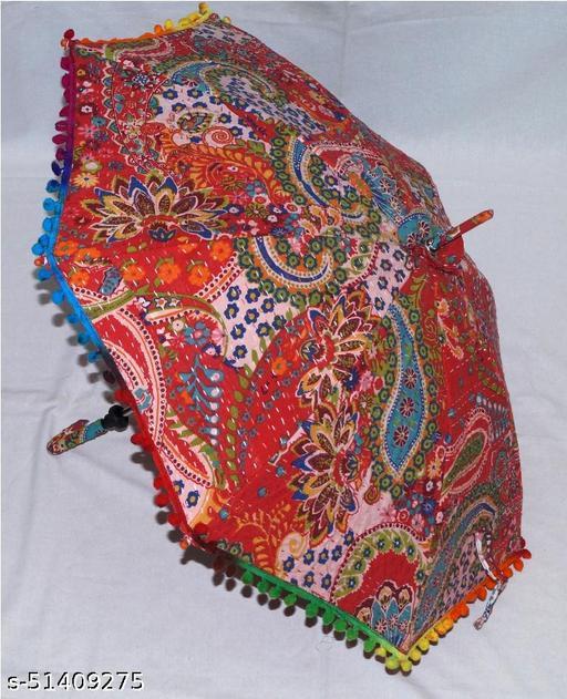Handstitch Kantha Parasol Wedding Sunshade Umbrella