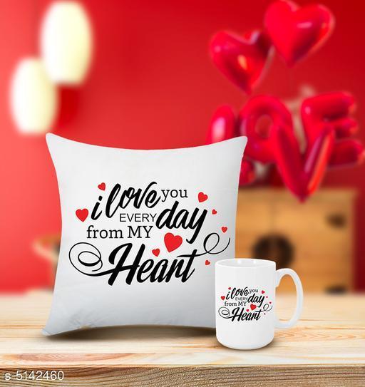 Beautiful Mug With Cushion Cover
