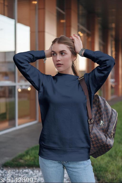 Trendy Elegant Women Sweatshirts
