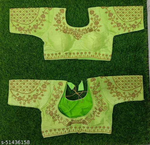 Stavya Designer Trendy Fancy Heavy Embroidered Blouses For Women