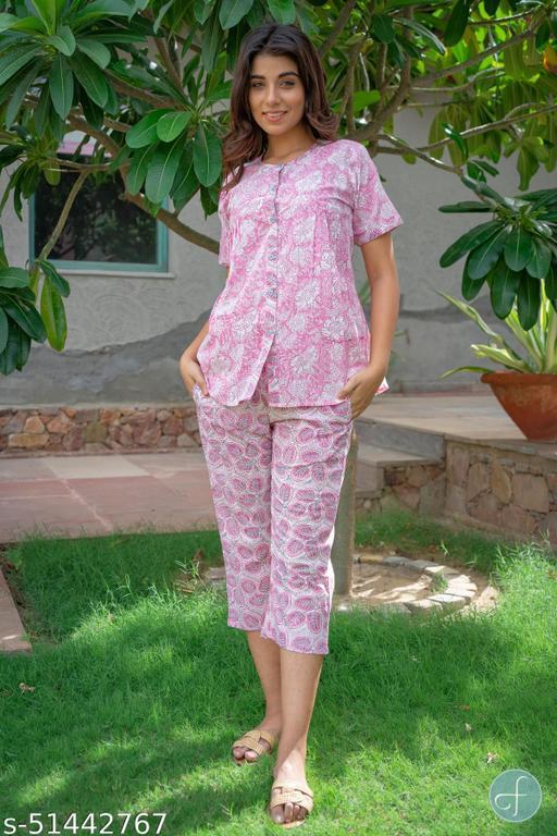 Trendy Attractive Women Nightsuits