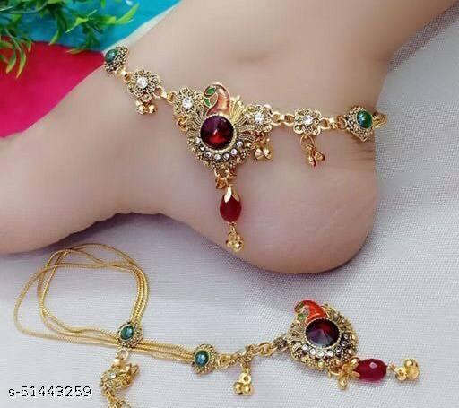 Elite Graceful Women Anklets & Toe Rings
