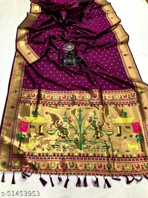 Pure Paithani Silk Saree