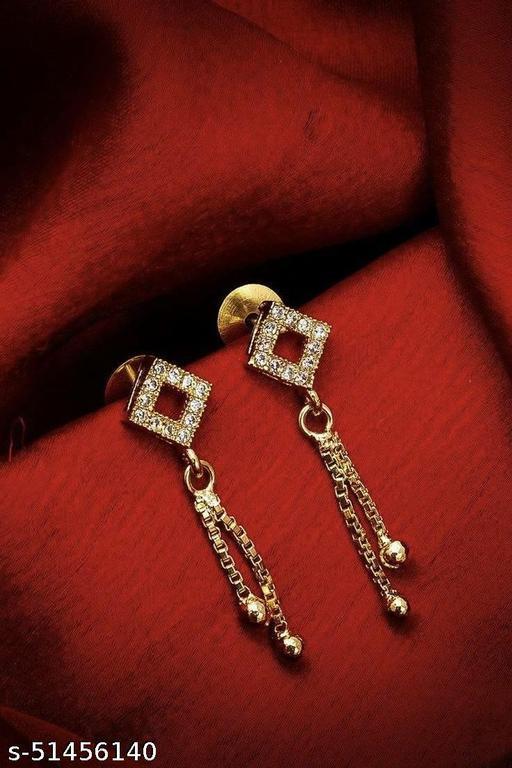 casual earrings design
