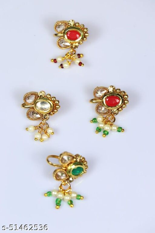 New Stylish Nose pin (nath) Combo Offer