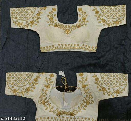 Alluring Sarees Trendy Fancy Heavy Embroidered Blouses For Women