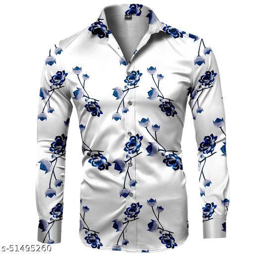 Comfy Partywear Men Shirt Fabric