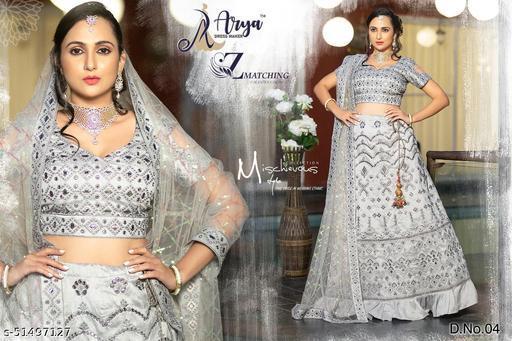 Aadhya Fenshi Mirror Work Lehenga Choli