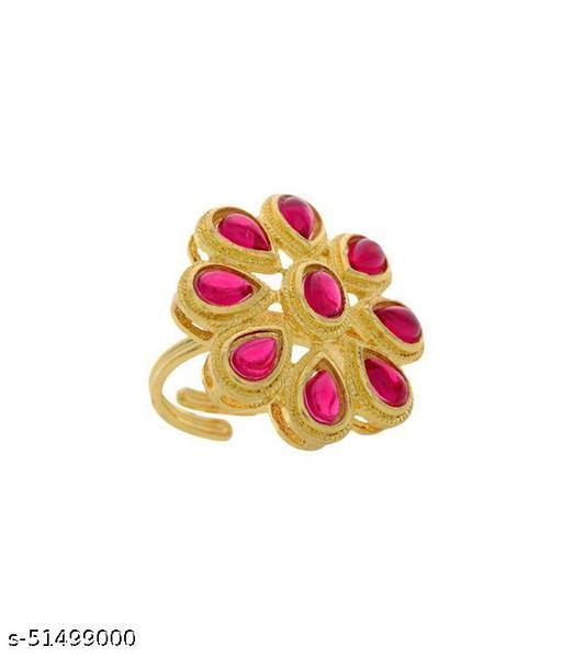 Kempu Stone Ring