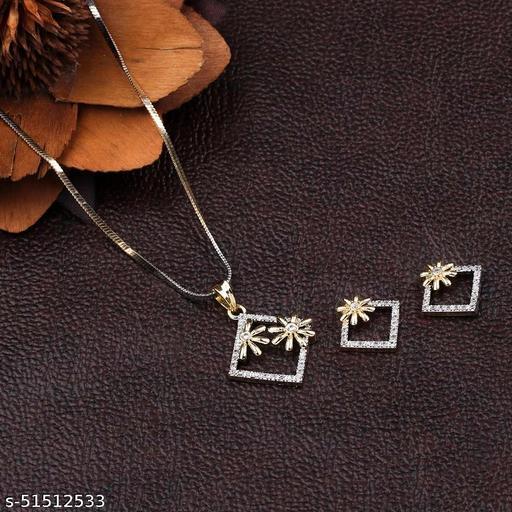 Allure Glittering Jewellery Set