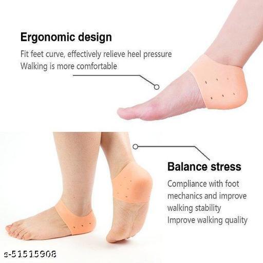 Anti-Heel Socks Set Of 1 Pair