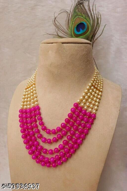 Five Layer Necklace & Mala For Woman,Men & Girls