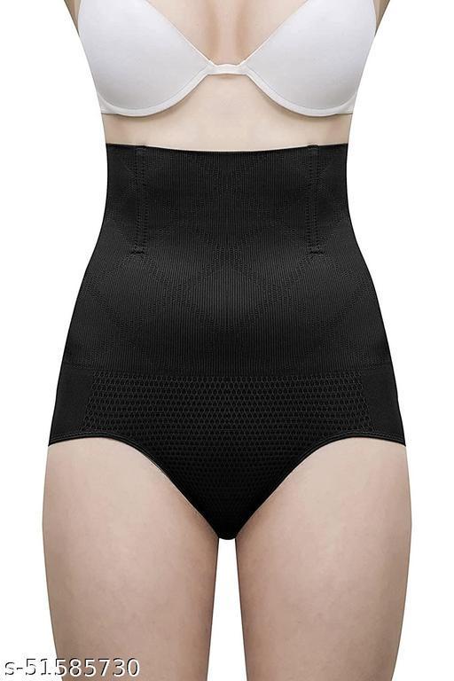 Women's Tummy Slim Shapewear (Black) Pack of-1