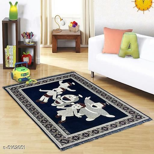 Medium Weight Carpets Trendy Chenille Carpets  *Material* Cotton  *Multipack* 1  *Sizes*   *Free Size (Length Size* 17 cm, Width Size  *Sizes Available* Free Size *    Catalog Name: Trendy Chenille Carpets CatalogID_762746 C55-SC1723 Code: 455-5162051-