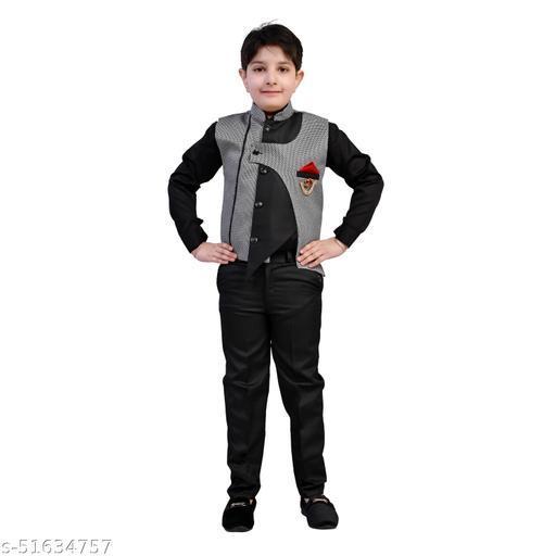 Kids Boys 3 Piece Stylish Clothing Set