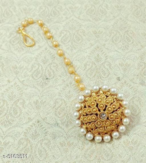 Women's Copper Gold Plated Maangtika