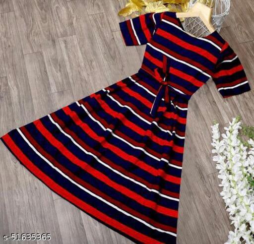 STYLISH MULTICOLOR DRESS