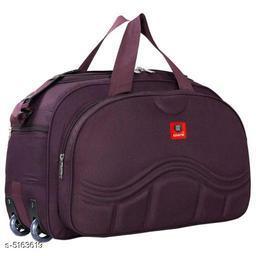 Classy Men's Brown Duffel Bags