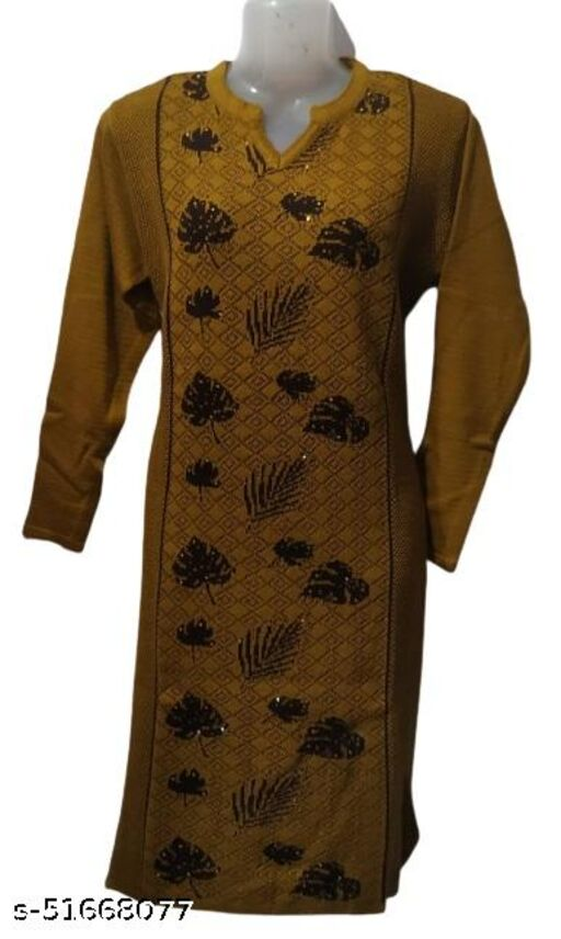 MM Woolen Kurti Designer