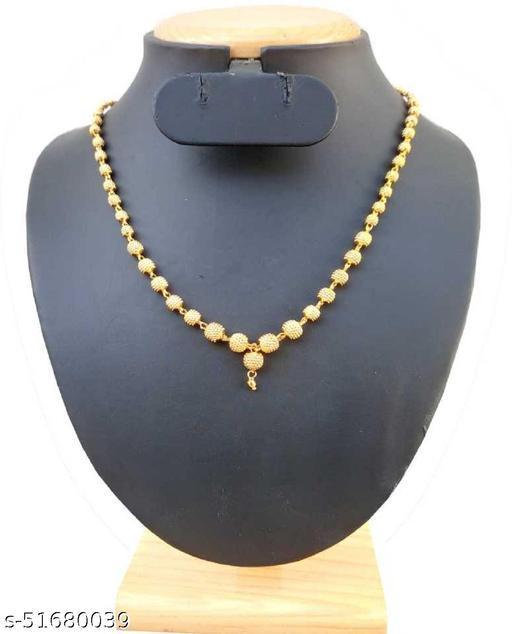 Shimmering Elegant Necklace & chain