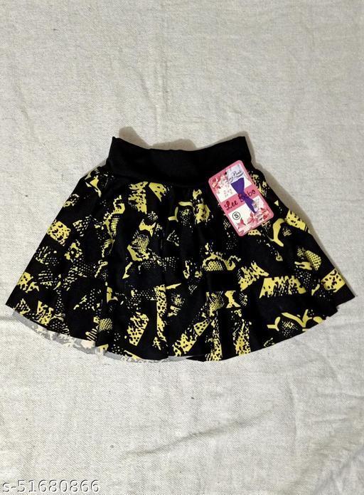 Cute Comfy Kids Girls Skirts