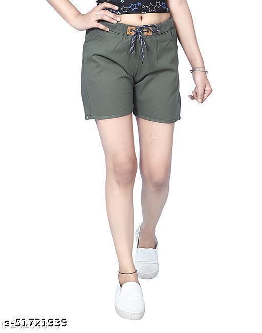 Elegant Feminine Women Shorts