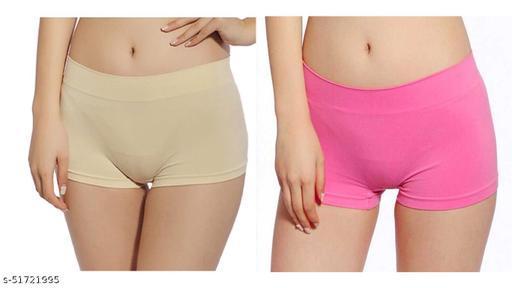 ICONIC DEEVA Women Boy Short Panty (Pack of 2)