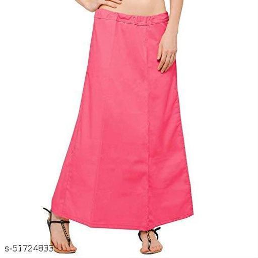 Dark cotton 100% pure cotton petticoat pack of 1