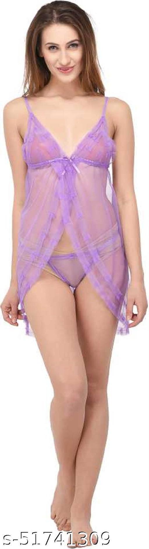 Babydoll Dresses-Honeymoon Lingerie-Babydoll  Sleepwear