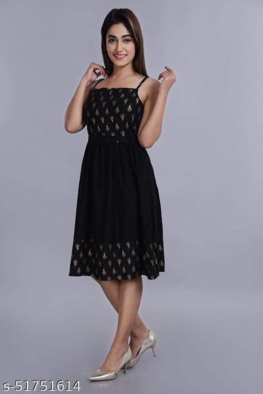 UNTOLD IDENTITY Presenting New Design Western Dress For Women