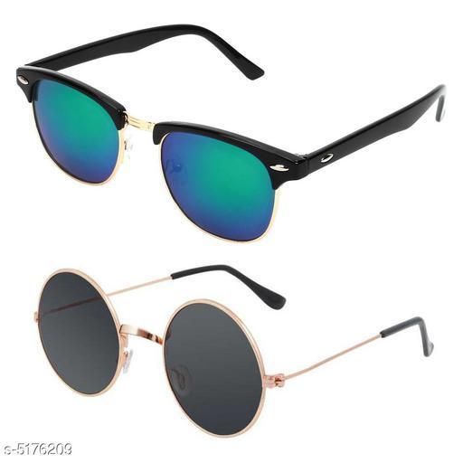 Designer Men's Sunglasses ( Pack Of 2 )