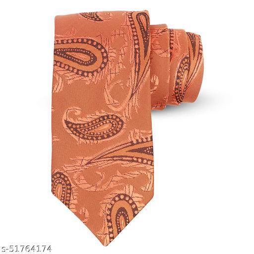 Panjatan Biege Coloured Blend Paisley Modern Touch Microfiber Necktie For Men.(Width-3 Inch)…