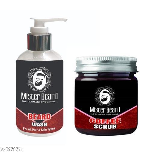 Mister Beard Beard Wash 200ml WITH Coffee Scrub 100gm
