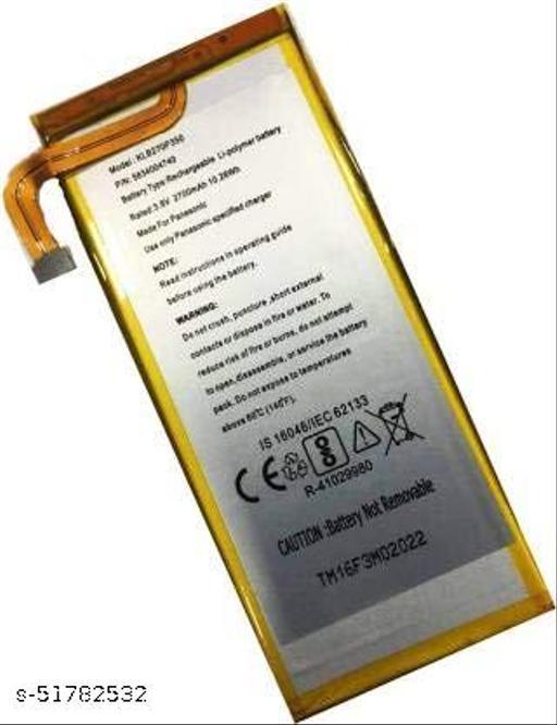 MiniKart Compatible Mobile Battery for Panasonic Eluga i3 KLB270P350 2700mAh.