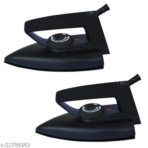 Fogger Matt Black Neo Dry Iron 1000-Watt (Set of 2)