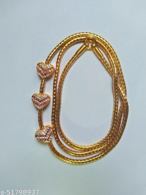 Premium Quality  Necklace For Women K Mop Heart