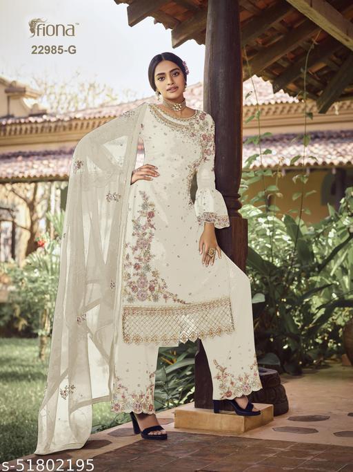 Banita Attractive Semi-Stitched Suits