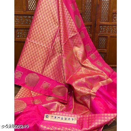 Designer Kanjeevaram Silk Saree For Womens