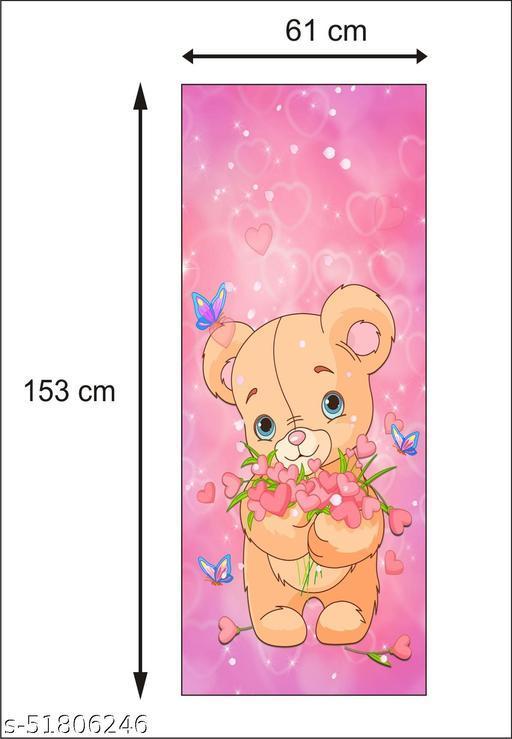 HD-theloveofteddies-love-heart-teddy-cute-pastel-pink-butterfly-butterflies-beautiful-pretty-girly-hearts fridge doo skin Sticker