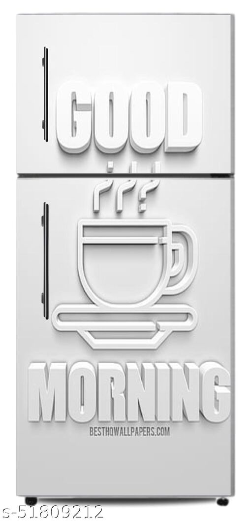 HD-good-morning-cup-of-coffee-3d-icon-3d-sign-white-background-3d-art-morning-concepts-morning-coffee door skin