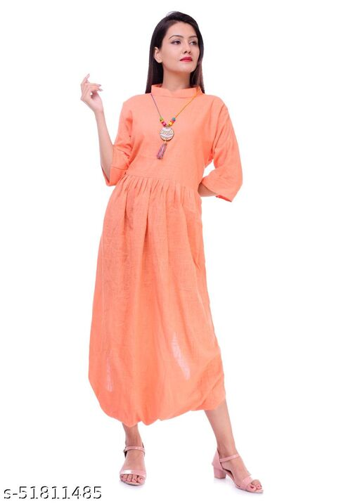 Anaghakart Cotton Party wear Dresses