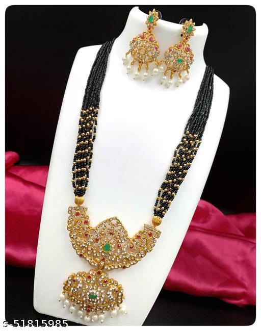 Elegent High Quality Rich Look Necklace Set