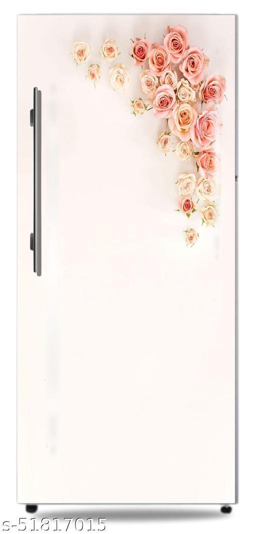 HD-rose-purple-roses-vintage-flores-flower-designFridge door skin